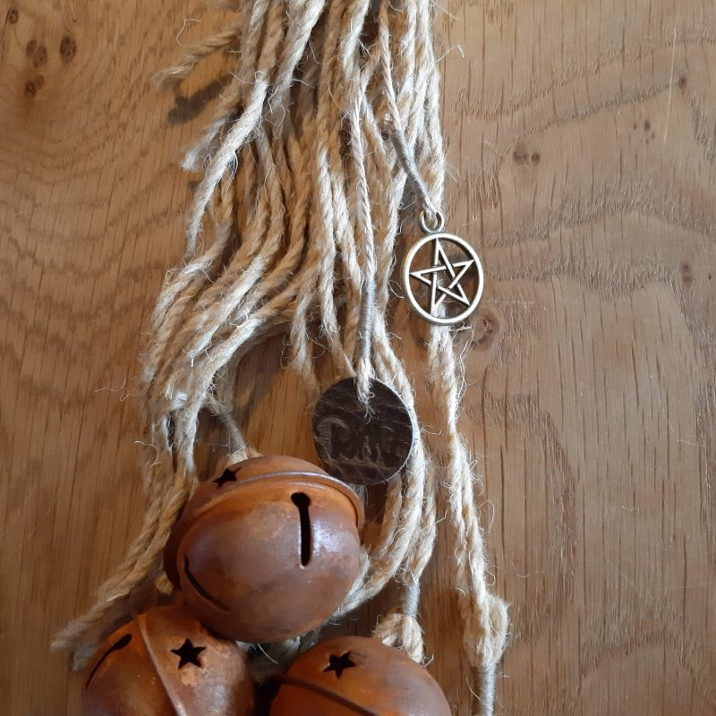 Witch's bells - 5 bellen naturel touw - RMV Tactiles